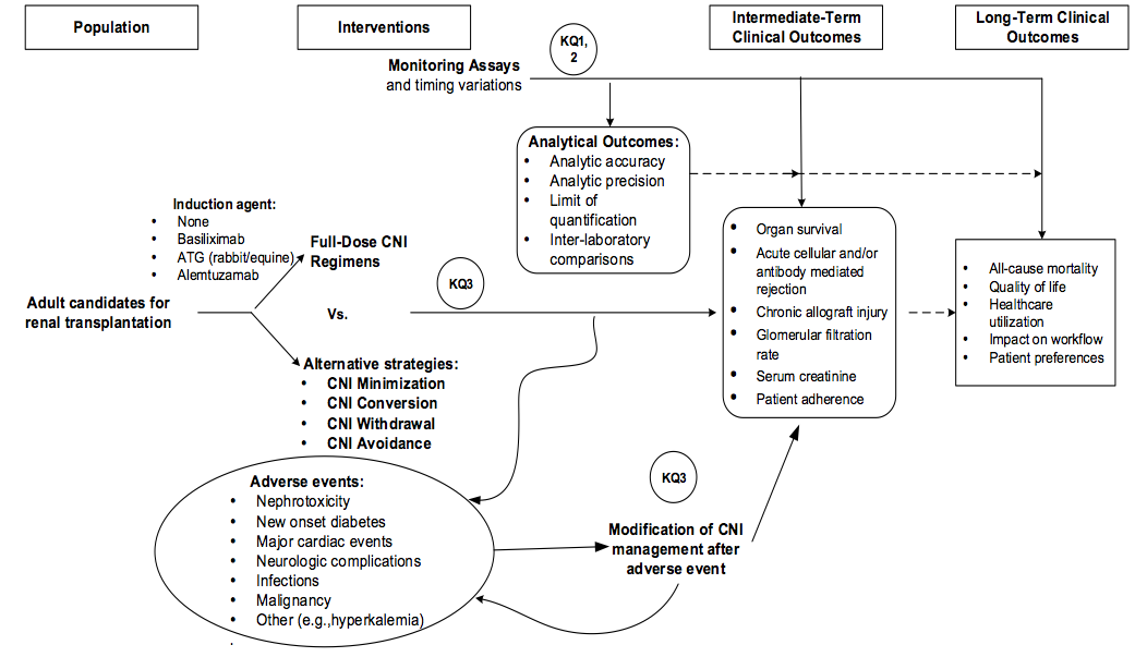 Systematic Review of Calcineurin Inhibitors for Kidney