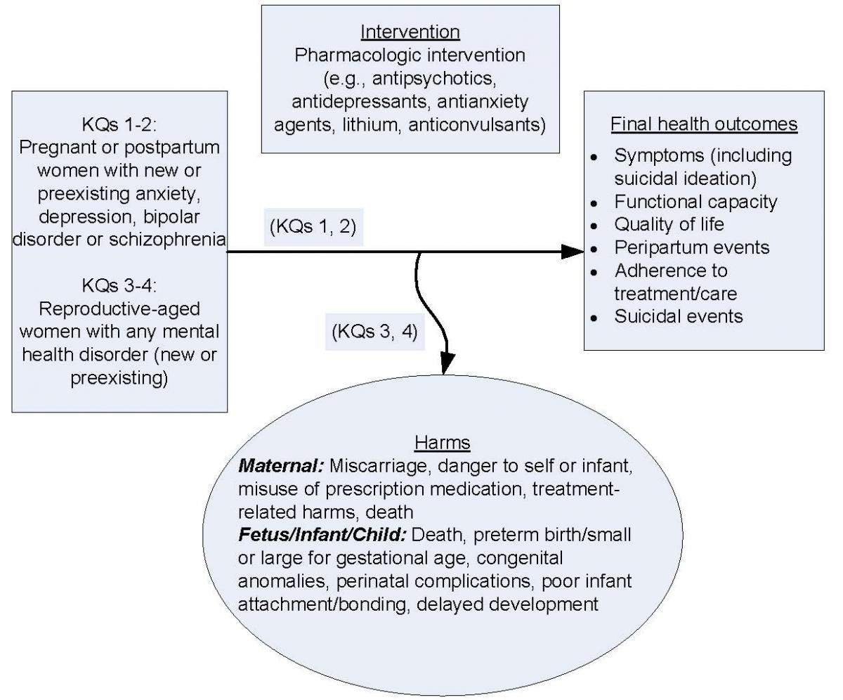 Maternal and Fetal Effects of Mental Health Treatments in